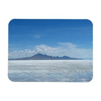 Bonneville Salt Flats Rectangle Magnets