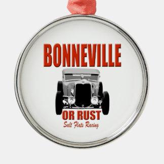 bonneville salt flats racing christmas ornament