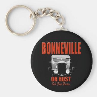 bonneville salt flats racing keychains