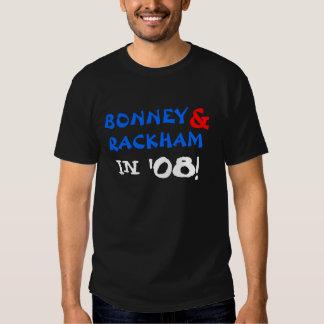 Bonney & Rackham '08 Tees