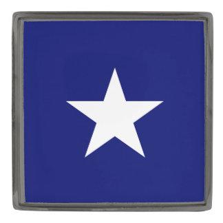 """""""Bonnie Blue Flag"""" Lapel Pin Gunmetal Finish Lapel Pin"""