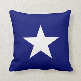 Bonnie Blue Flag Throw Pillow