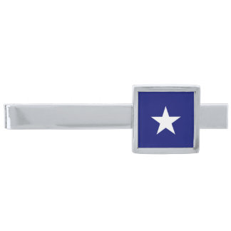 """""""Bonnie Blue Flag"""" Tie Bar Silver Finish Tie Bar"""