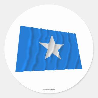 Bonnie Blue Flag / West Florida Republic Flag Round Sticker