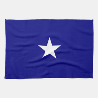Bonnie Blue Flag White Star Tea Towel