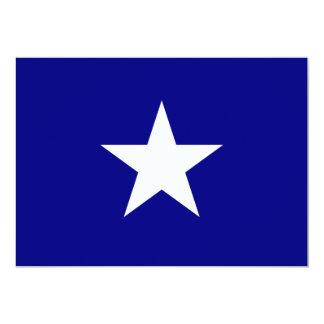 Bonnie Blue Flag with Lone White Star Invitation