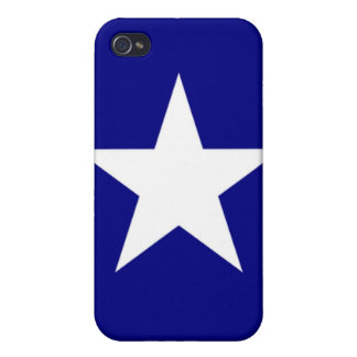 Bonnie Blue Hard Shell Case  for iPhone 4 iPhone 4/4S Cover