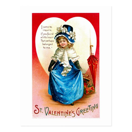 Bonnie Blue Valetine Postcard