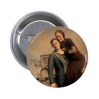 Bonnie & Clyde 6 Cm Round Badge