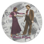 Bonnie & Clyde Collector Plate