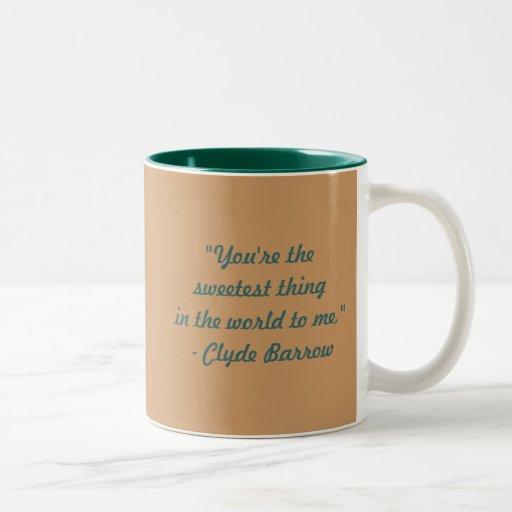 Bonnie & Clyde Coffee Mug