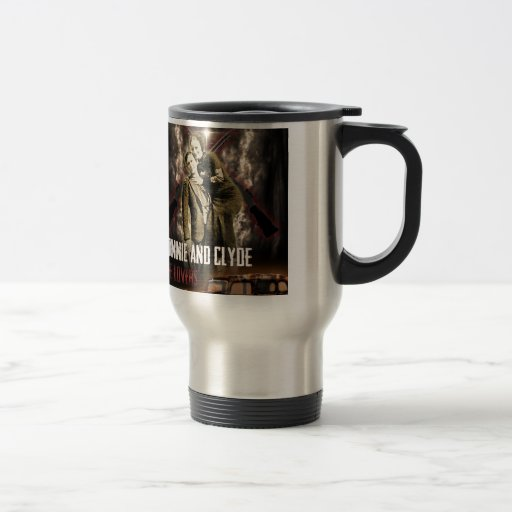 Bonnie & Clyde The Outlaw Lovers Coffee Mug