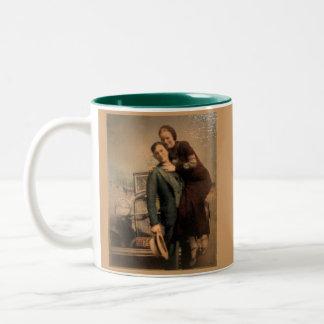 Bonnie & Clyde Two-Tone Mug