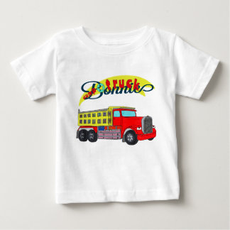 Bonnie construction vehicle bonnet dump truck baby T-Shirt