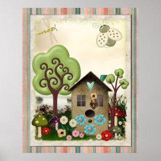 Bonnie Memories Vintage Whimsical Posters