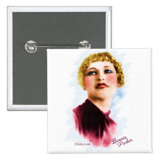 Bonnie Parker 15 Cm Square Badge