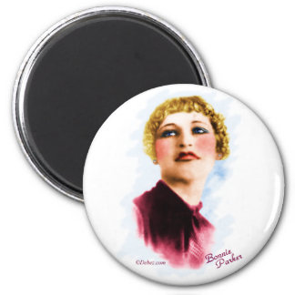 Bonnie Parker 6 Cm Round Magnet