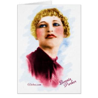 Bonnie Parker Card