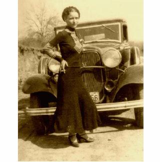 Bonnie Parker - The Barrow Gang Standing Photo Sculpture