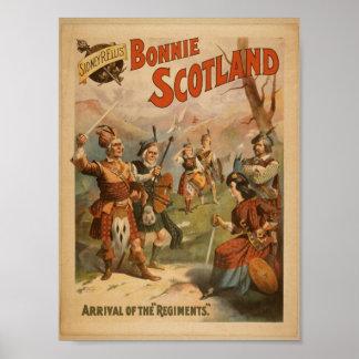 Bonnie Scotland,  'Arrival of the Regiments' Posters