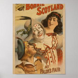 Bonnie Scotland, at 'Paldy's Fair' Vintage Theater Posters