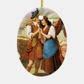 Bonnie Scotland Christmas Ornament