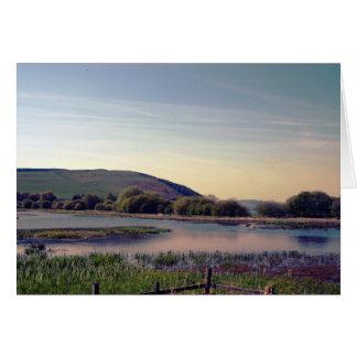 Bonnie Scotland -- Scottish Loch View Card