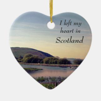 Bonnie Scotland -- Scottish Loch View Christmas Ornament