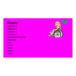 Bonnie soars pack of standard business cards