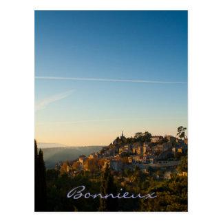 Bonnieux, village in the Luberon, Provence Postcard