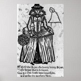 Bonny Bonny Brier Poster