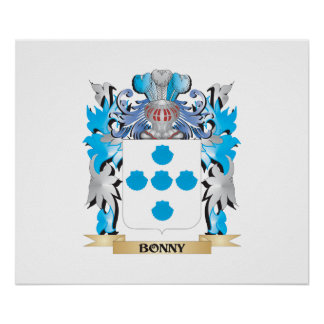 Bonny Coat of Arms Posters