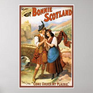 Bonny Scotland Posters