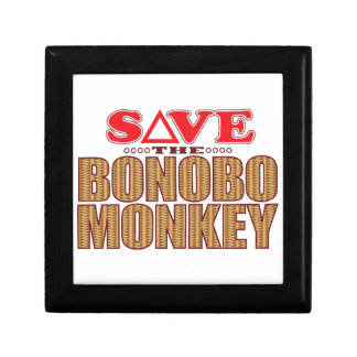 Bonobo Monkey Save Gift Box