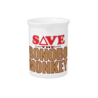 Bonobo Monkey Save Pitcher