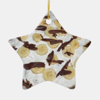 Bonoffi Pie Ceramic Star Decoration