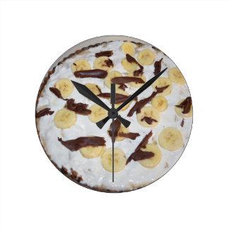 Bonoffi Pie Round Clock