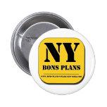 """BONS PLANS NEW YORK"" Appli Badge"