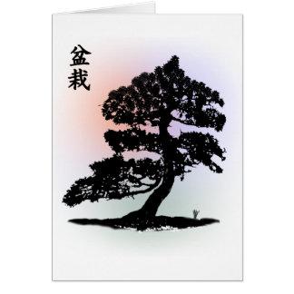 Bonsai 02 greeting card
