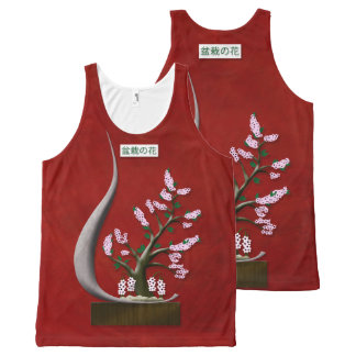 Bonsai Blossom All-Over Print Tank Top