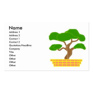 Bonsai business cards