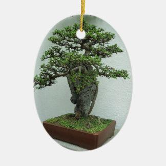 bonsai christmas ornament