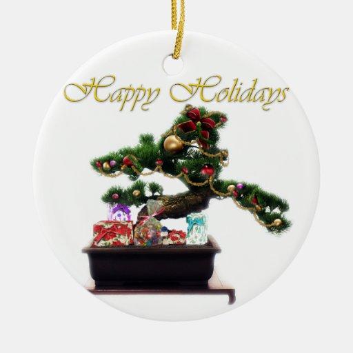 Bonsai Christmas Tree Ornaments