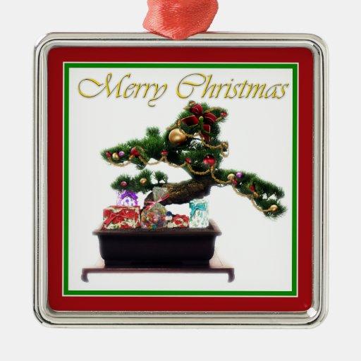 Bonsai Christmas Tree Ornament