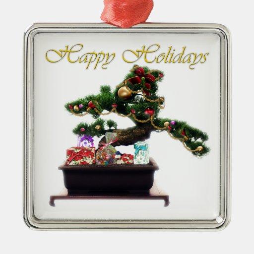 Bonsai Christmas Tree Christmas Tree Ornaments