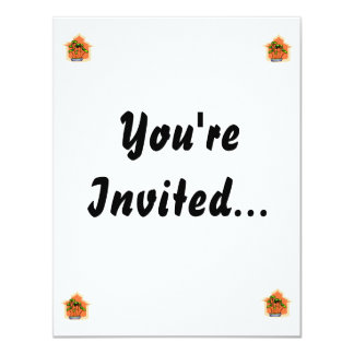 Bonsai Clump Graphic Image 1 11 Cm X 14 Cm Invitation Card
