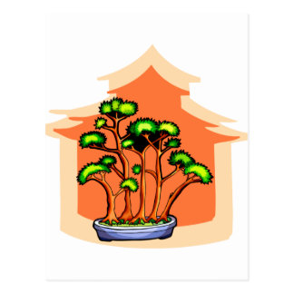 Bonsai Clump Graphic Image 1 Post Card