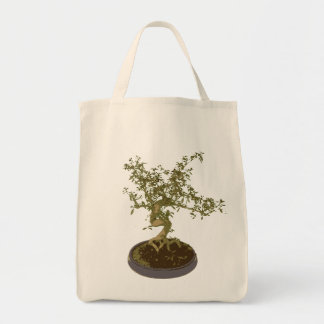 Bonsai Grocery Tote Bag