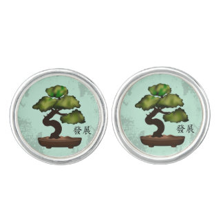 "Bonsai ""Growth"" Cufflinks"
