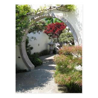 Bonsai House Arch at U.S. National Arboretum Postcard